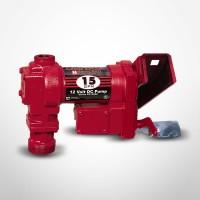 Fill-Rite 12 Volt DC Pump with Manual Nozzle 15 GPM
