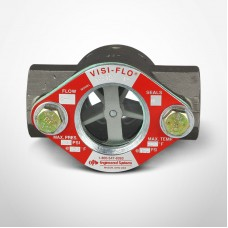 "OPW Visi-Flo® 1400 Series Sight Flow Indicators 1"" Carbon Steel Unit with Delrim Propeller, Threaded Ends"
