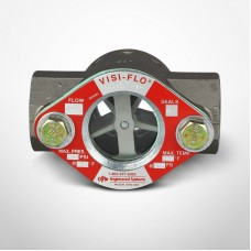 "OPW Visi-Flo® 1400 Series Sight Flow Indicators 1"" Stainless Steel Unit with Delrim Propeller, Female NPT Threaded Ends"