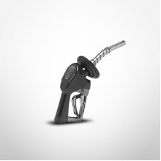 Husky New Unleaded XS Pressure Activated Automatic Nozzle & 1808 Waffle Guard (Black)