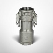 OPW 2'' Kamvalock Coupler, Stainless Steel, Fluorocarbon, DL-FNPT