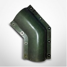 "Smith Fiberglass Red Thread 3"" 45° Secondary Containment Elbow (012030-310-3)"