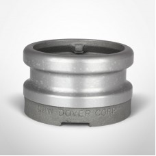 "OPW Fueling 4"" x 4"" Hardcoated Aluminum Tight-Fill Top-Seal Adaptor"