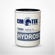 Cim-Tek 70060 400HS-10, Spin-On Filter with 10 Micron Hydrosorb® Media