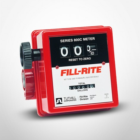 "Fill-Rite Basic Flow Meter with 3/4"" Inlet & Outlet"