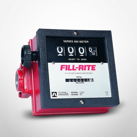 """Fill-Rite Basic Meter with 1"""" Inlet & Outlet"""