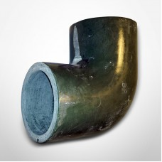 "Smith Fiberglass Red Thread 3"" 90° Primary Fiberglass Elbow (012030-360-4)"