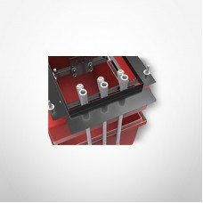 Bravo Electrical Offset Dispenser Frame