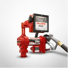 Fill-Rite 12V DC High Flow Pump with 901 Meter and Manual Nozzle 20 GPM