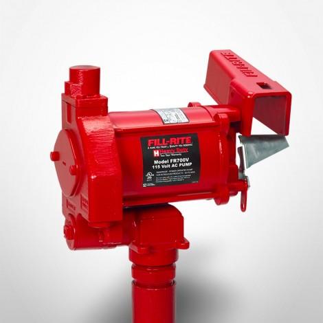 Fill-Rite 115 Volt AC Pump with Manual Nozzle 18 GPM
