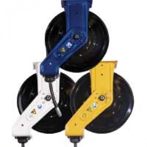 "Graco XD Series 50' Heavy Duty Hose Reel - Yellow 3/8"""