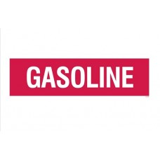 """Gasoline"" Decal 4''x14''"