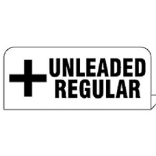 """Regular Unleaded"" Pipe Tag"
