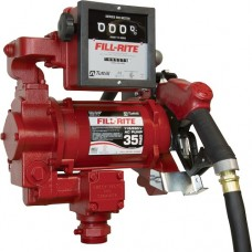 Fill-Rite High-Speed 115 Volt Pump with Hose, Nozzle, Meter