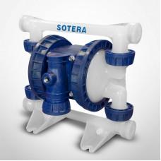 "Sotera 1/2"" PVDF Air Operated Diaphragm Pump"