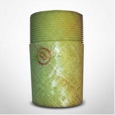 "Smith Fiberglass Red Thread 2"" Spigot by Male Adaptor (012020-192-4)"
