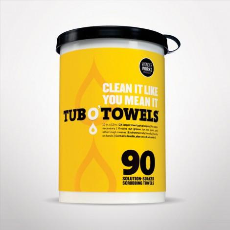 Federal Process Tub-O Towels® Multi Purpose Towels, 90 Count